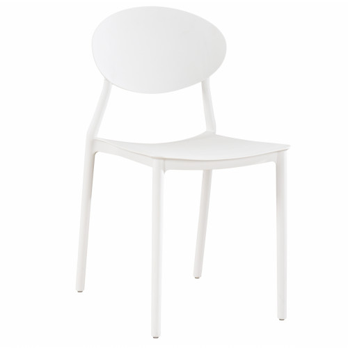 כיסא לפינת אוכל דגם GLASGOW לבן
