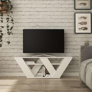 מזנון טלוויזיה Pipralla לבן 120 ס
