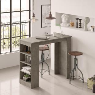 שולחן אוכל דגם ST1-RG בטון כהה מסדרת Peyton