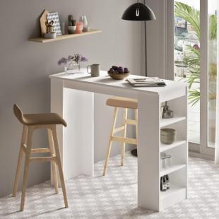 שולחן אוכל דגם ST1-W לבן מסדרת Peyton