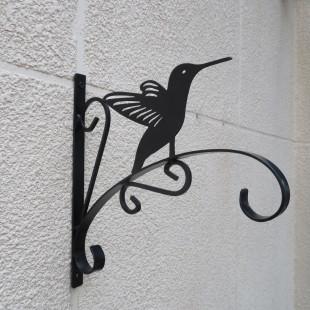 וו תליה מברזל לתליית עציצים דגם ציפור