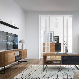 סט מזנון ושולחן מעוצבים בגימור מודרני תוצרת אירופה דגם דנה