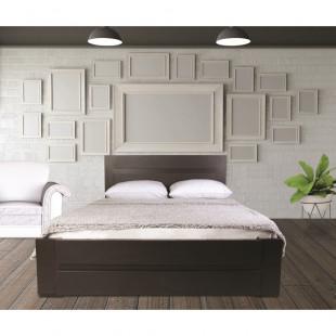 מיטה מעוצבת   בעיצוב חדשני עם ארגז מצעים  מתאימה למזרון 140/190 וונגה נויה
