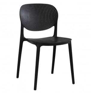 כיסא לפינת אוכל דגם VANCOUVER שחור