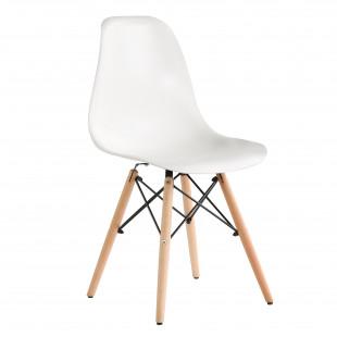 רביעיית כיסאות דגם BARI לבן X4