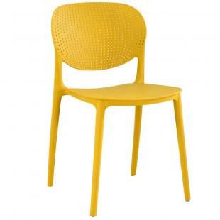 רביעיית כיסאות דגם VANCOUVER צהוב X4